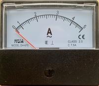 Analoge Paneelmeter 0 - 5A AC