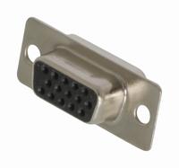 Sub-D connector 15-polig (HD) contra