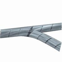 Spiraalband transparant 4mm