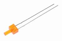 LED 2mm oranje  Zakje 10 stuks